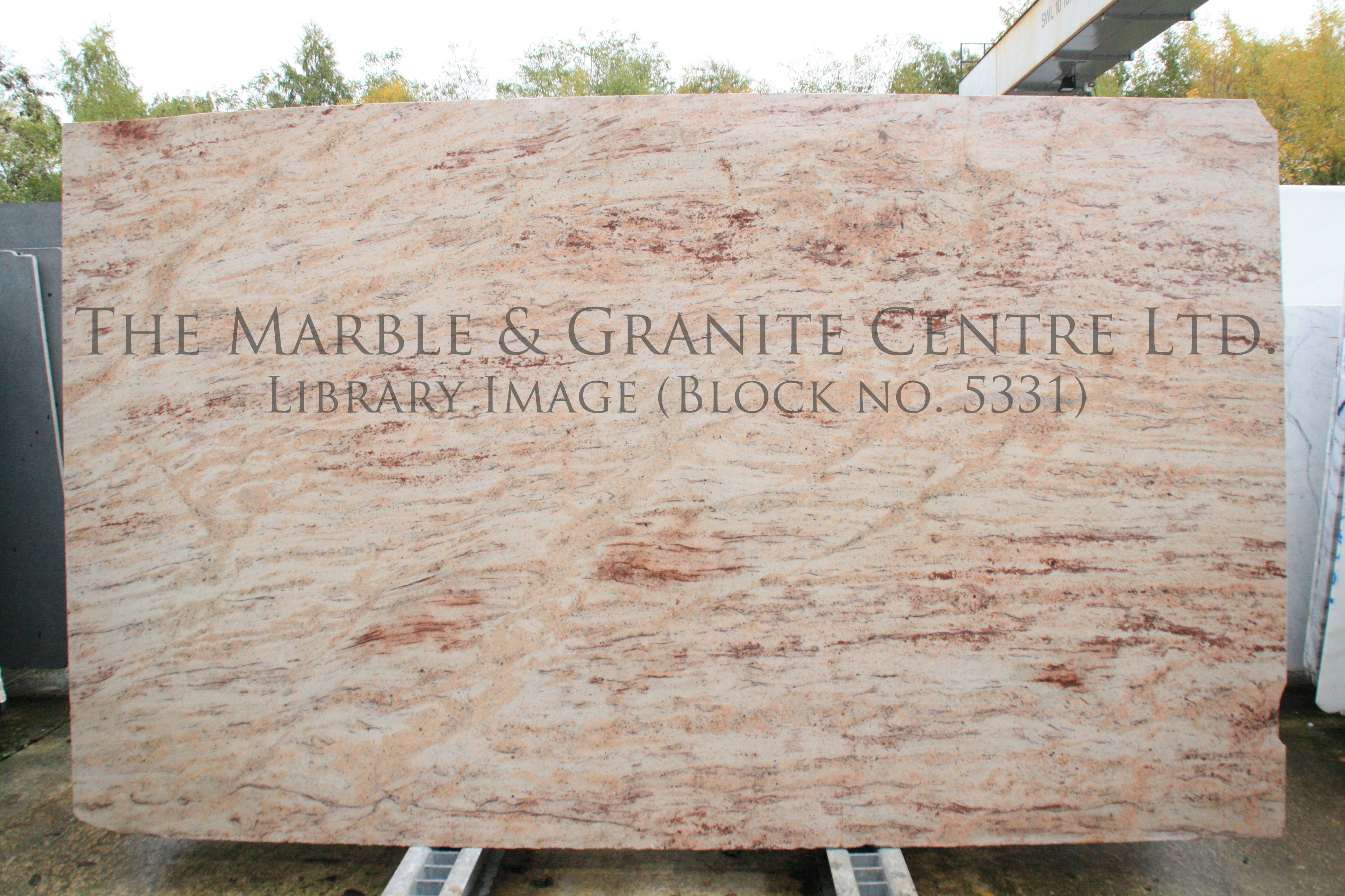 Granite Ivory Brown Polished 20 mm [5648]
