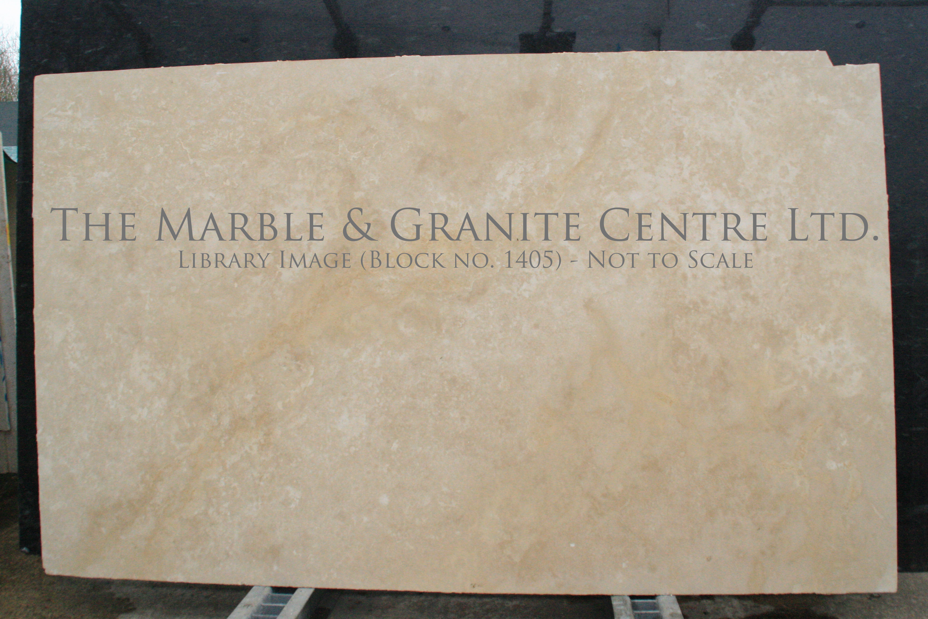 Marble Travertine Cross Cut Honed 20 mm [1605]