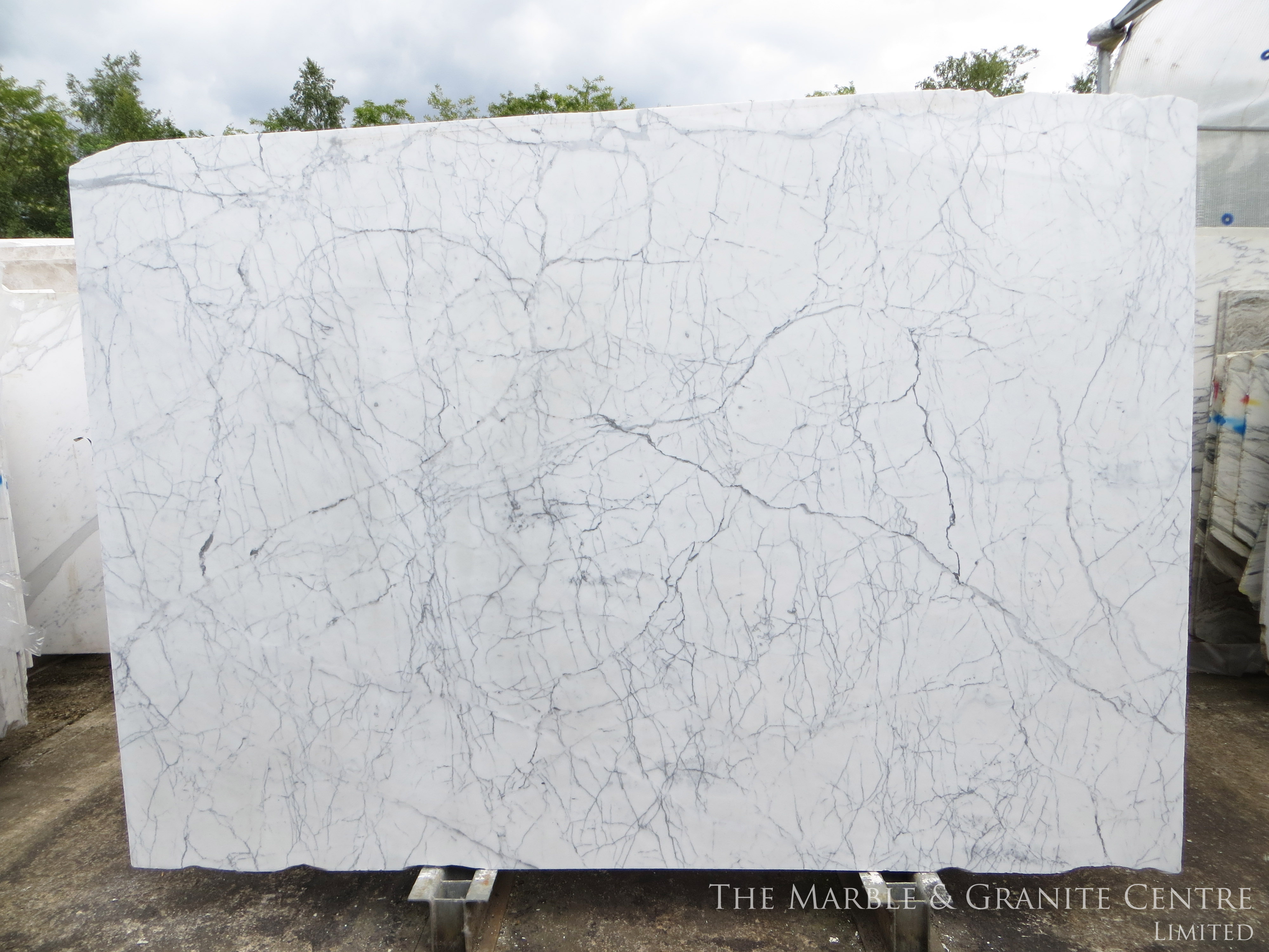 Marble Statuario Polished 20 mm [11287]