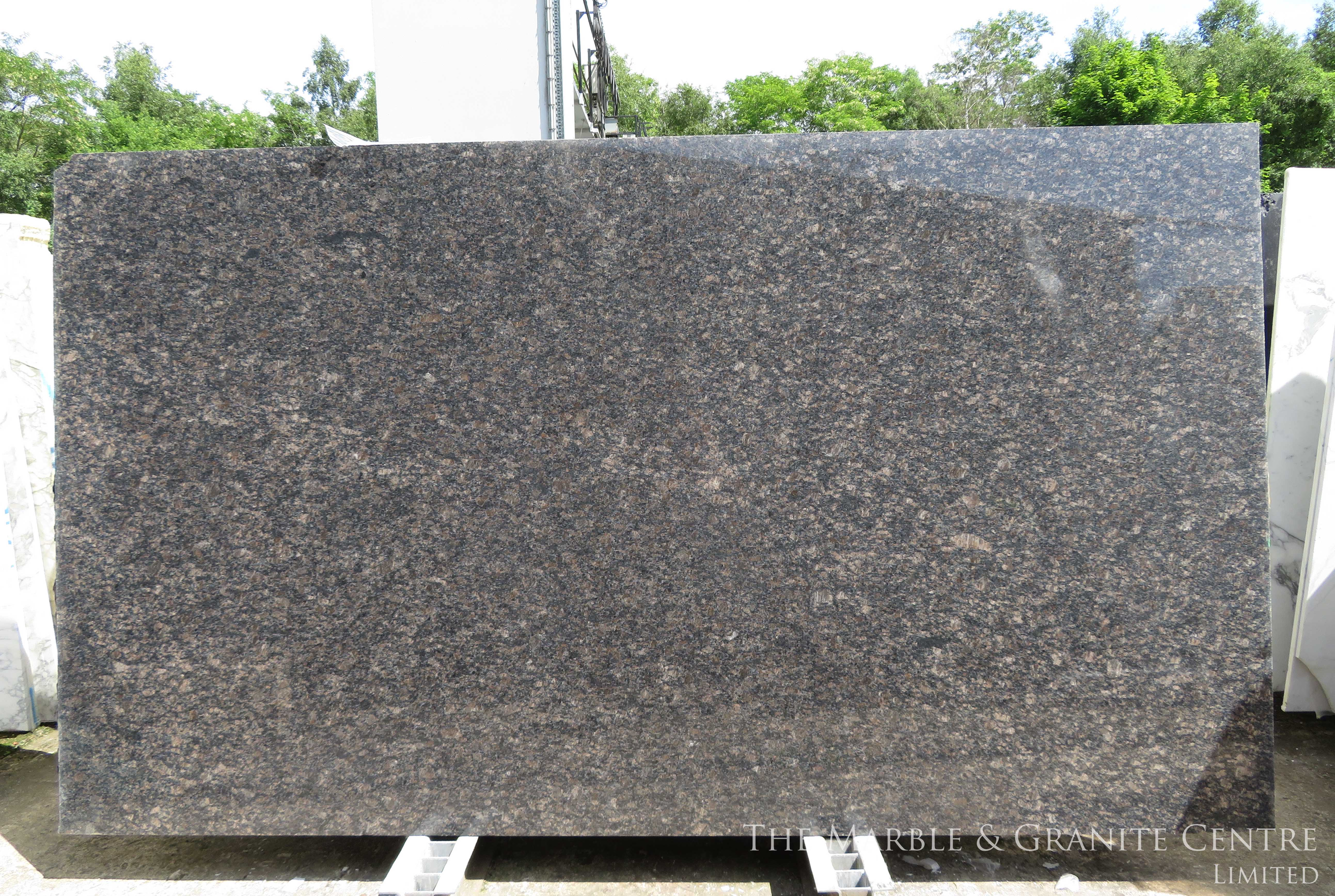 Granite Sapphire Brown Polished 20 mm [11393]