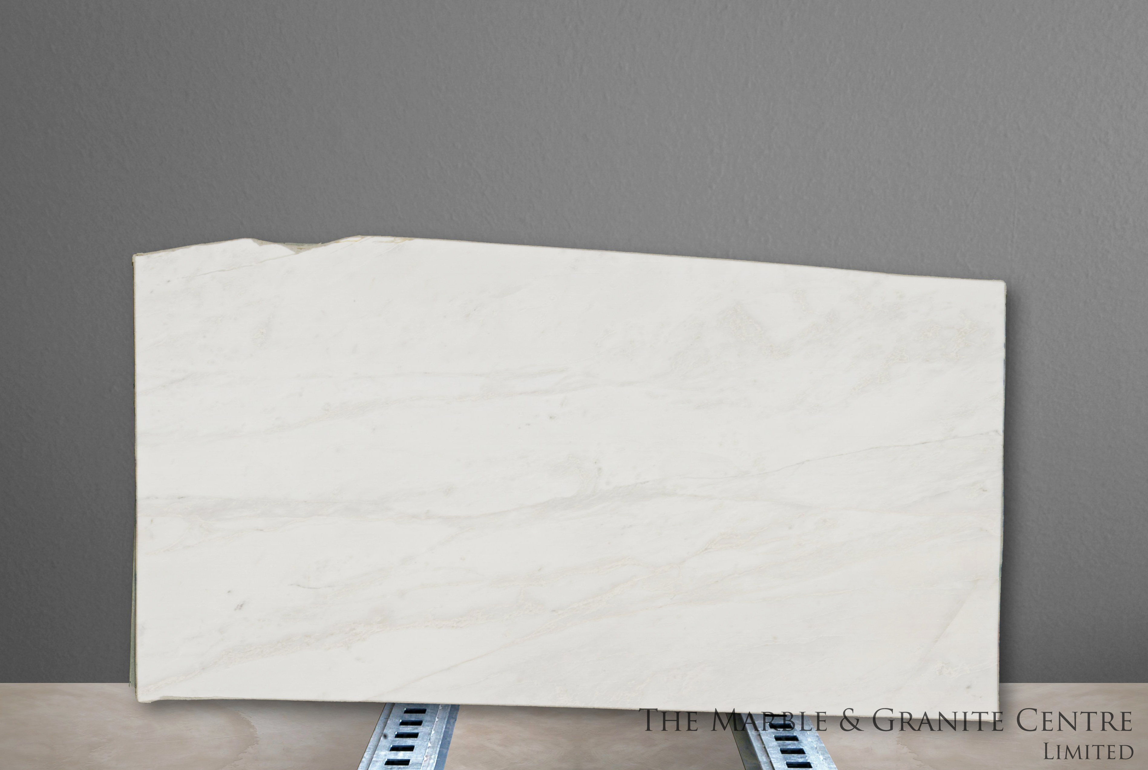 Marble Namibian White Polished 20 mm [11672]
