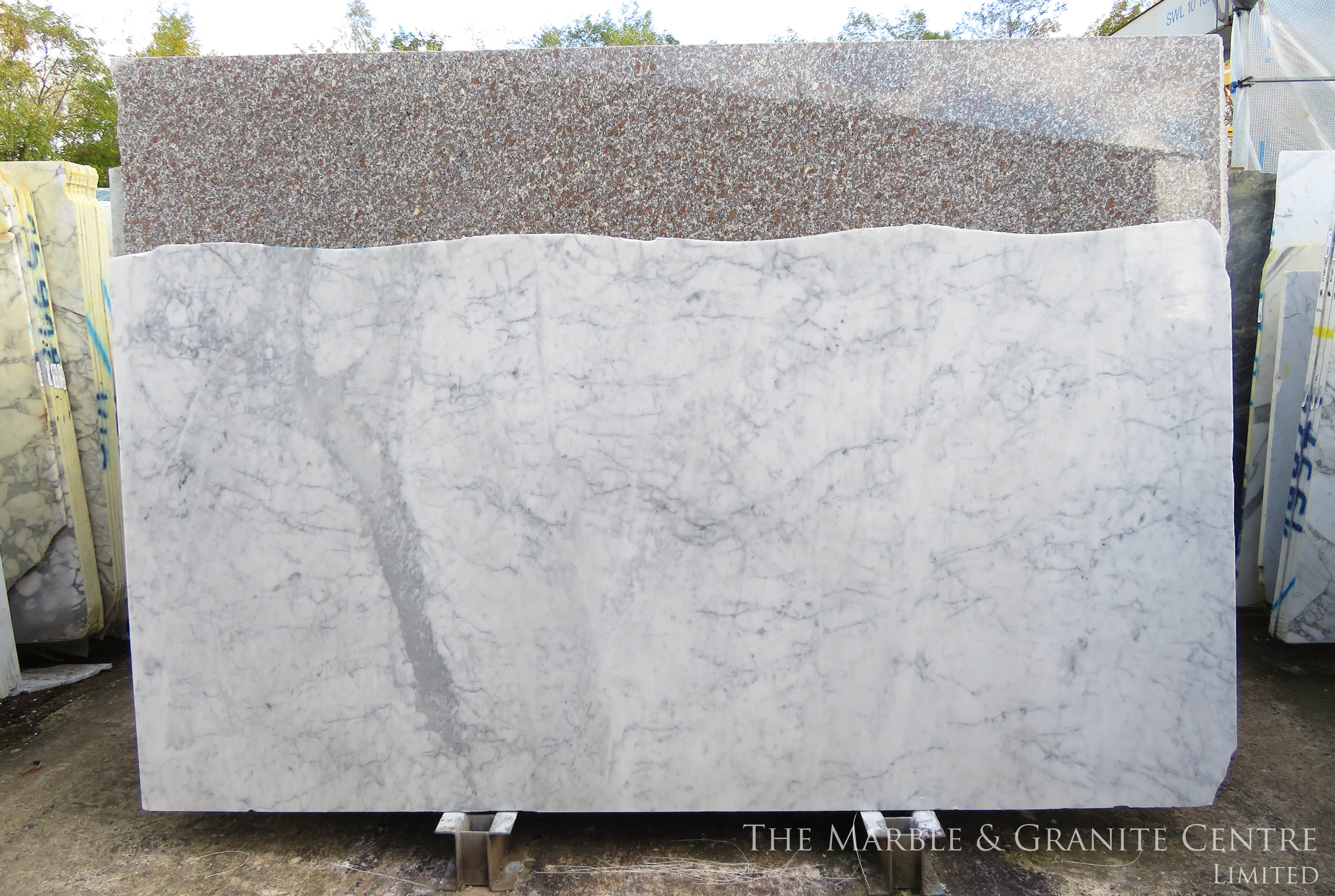 Marble White Carrara Gioia Polished 30 mm [11805]