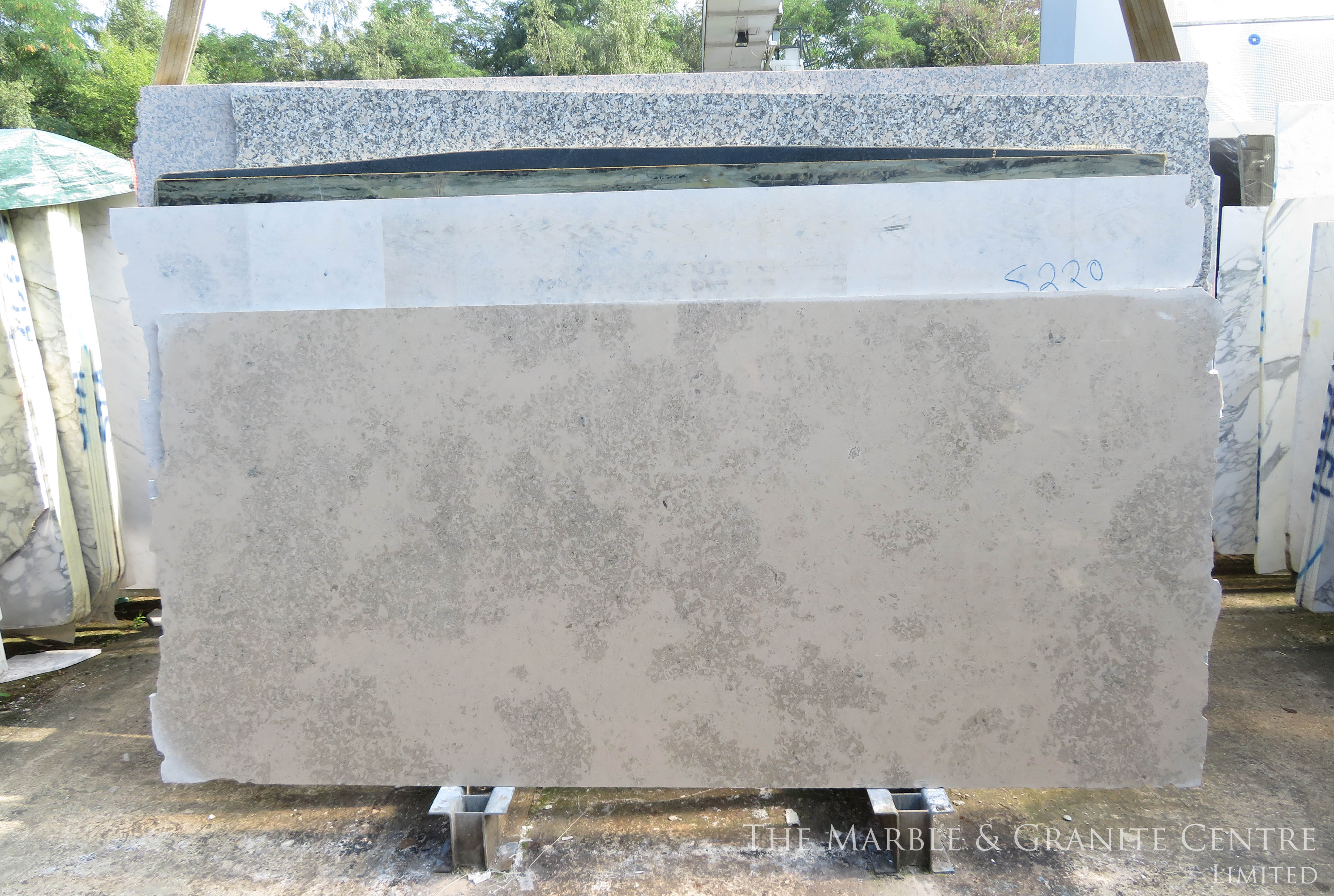 Limestone Jura Blue Polished 20 mm [1703]