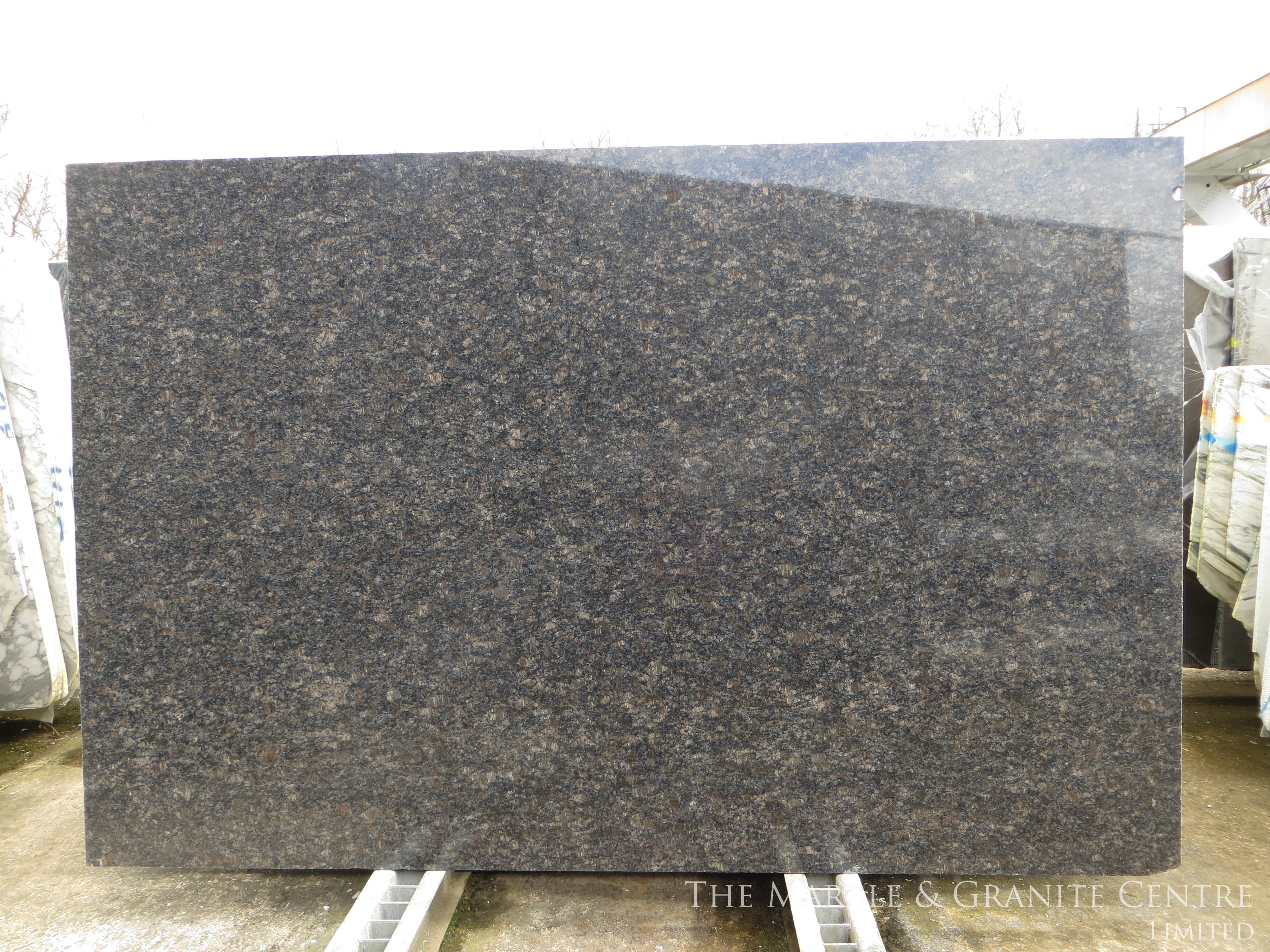 Granite Sapphire Brown Polished 30 mm [1742]