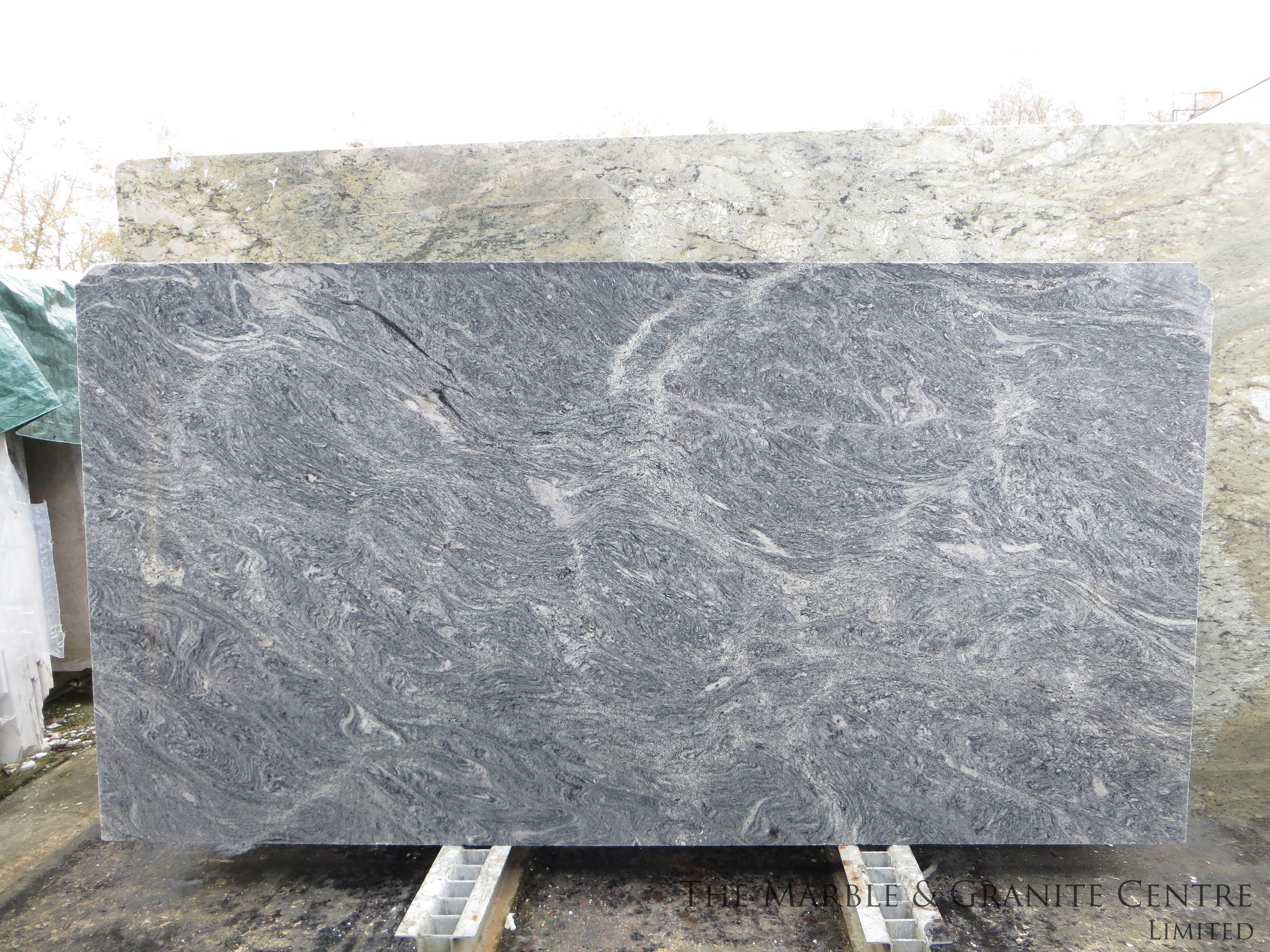 Granite Silver Cloud Polished 20 mm [25853]