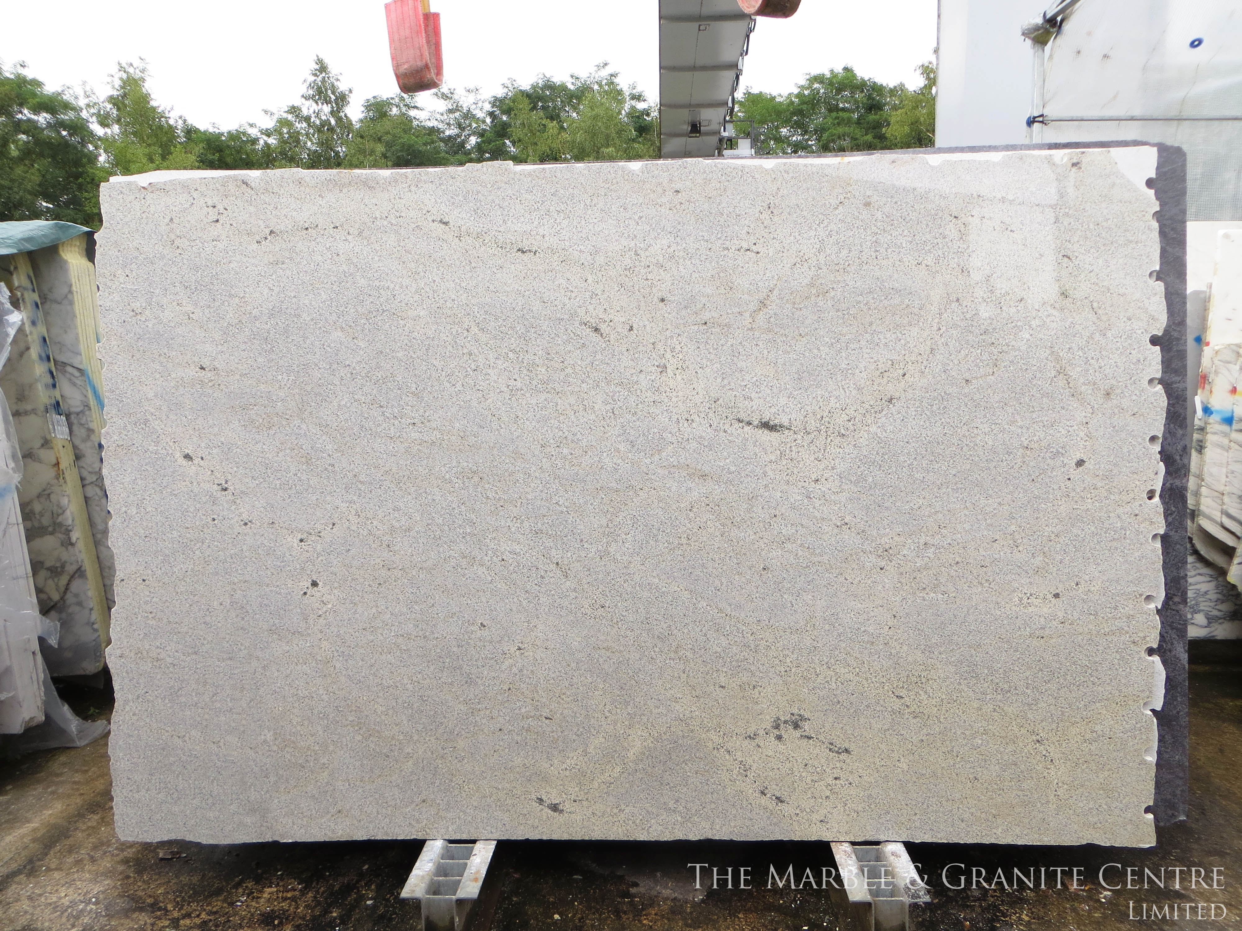 Granite New Kashmir White Polished 30 mm [26467]