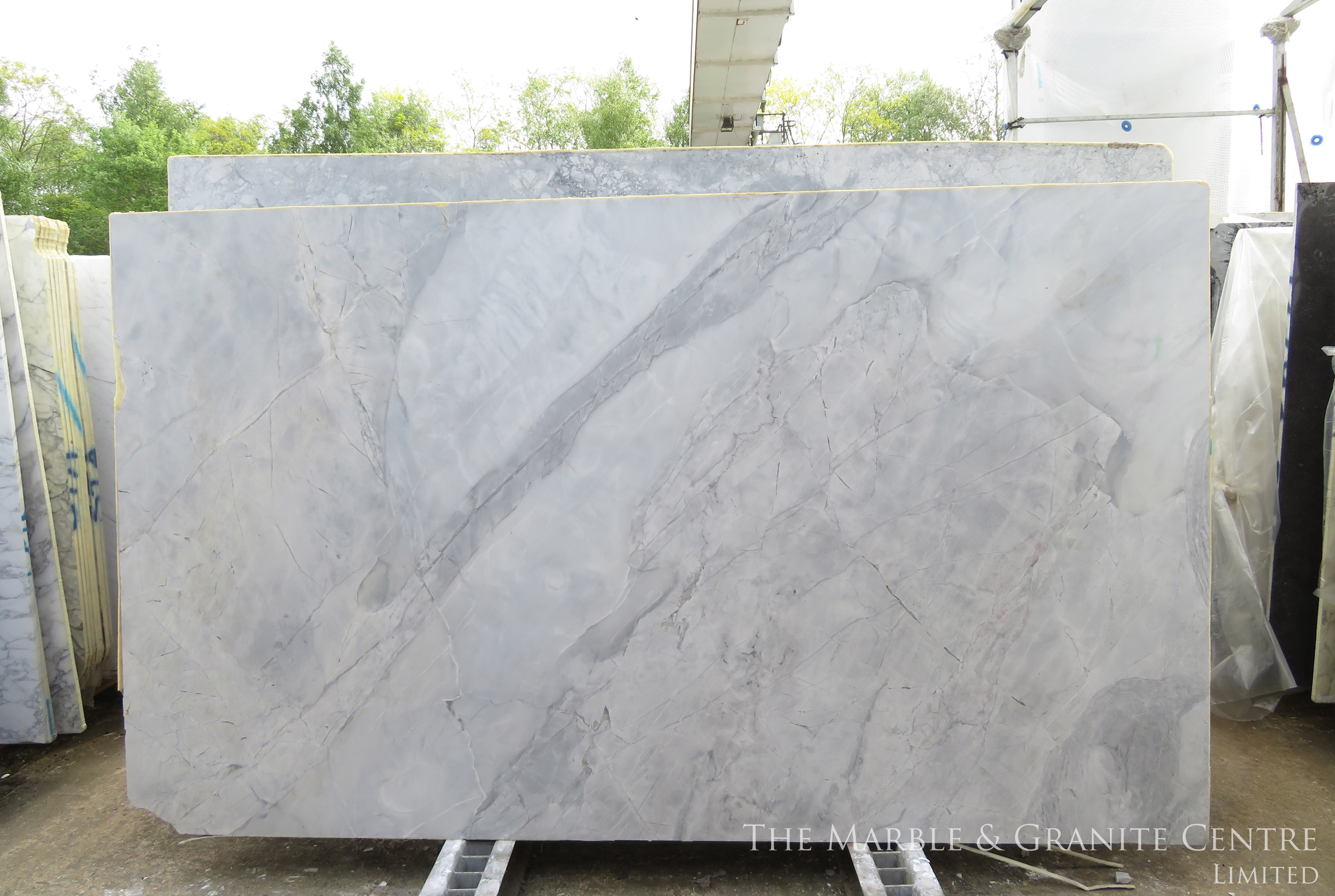 Quartzite Bianca Eclipsia Satinato 20 mm [27167]