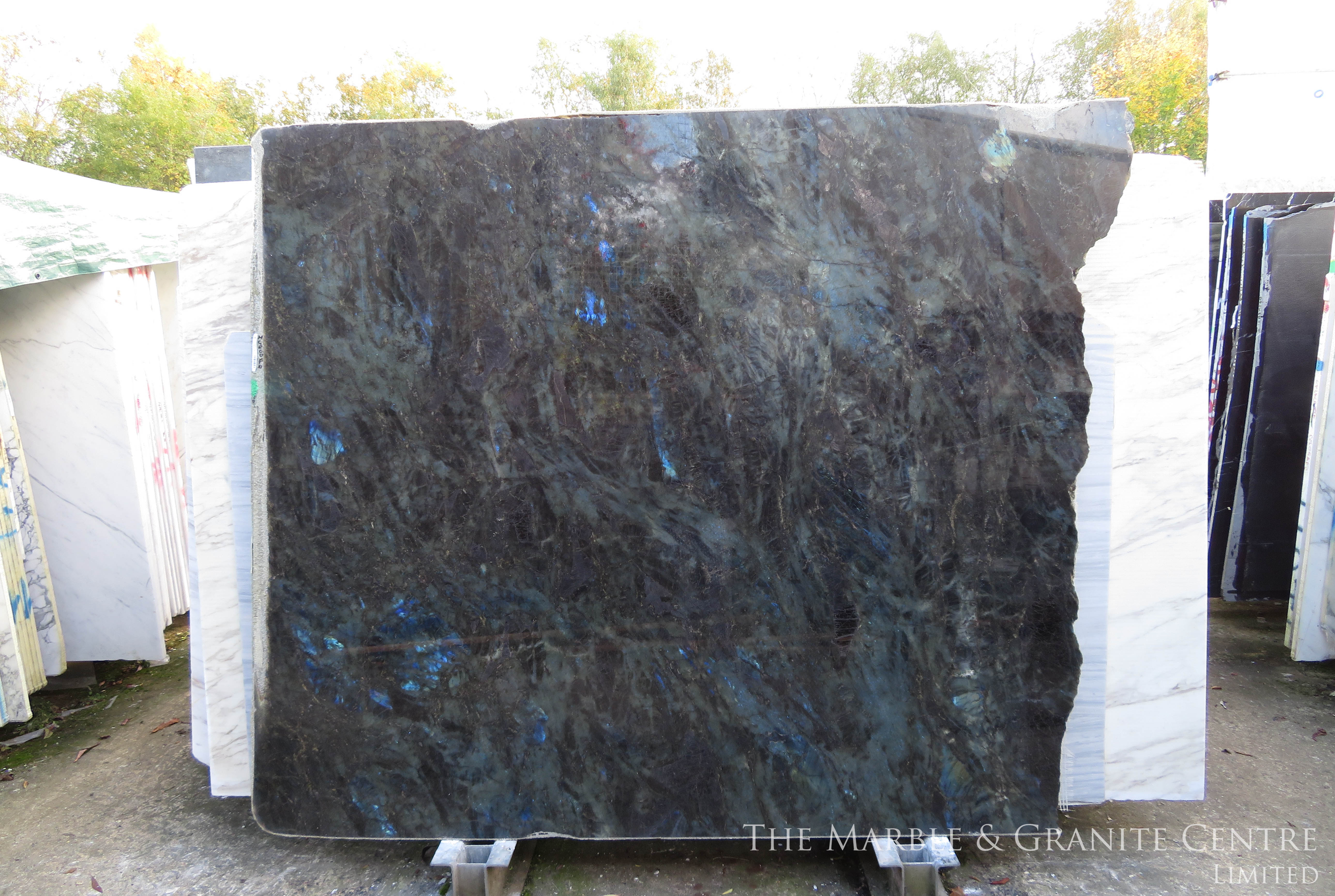 Granite Lemurrian Blue Polished 30 mm [27647]