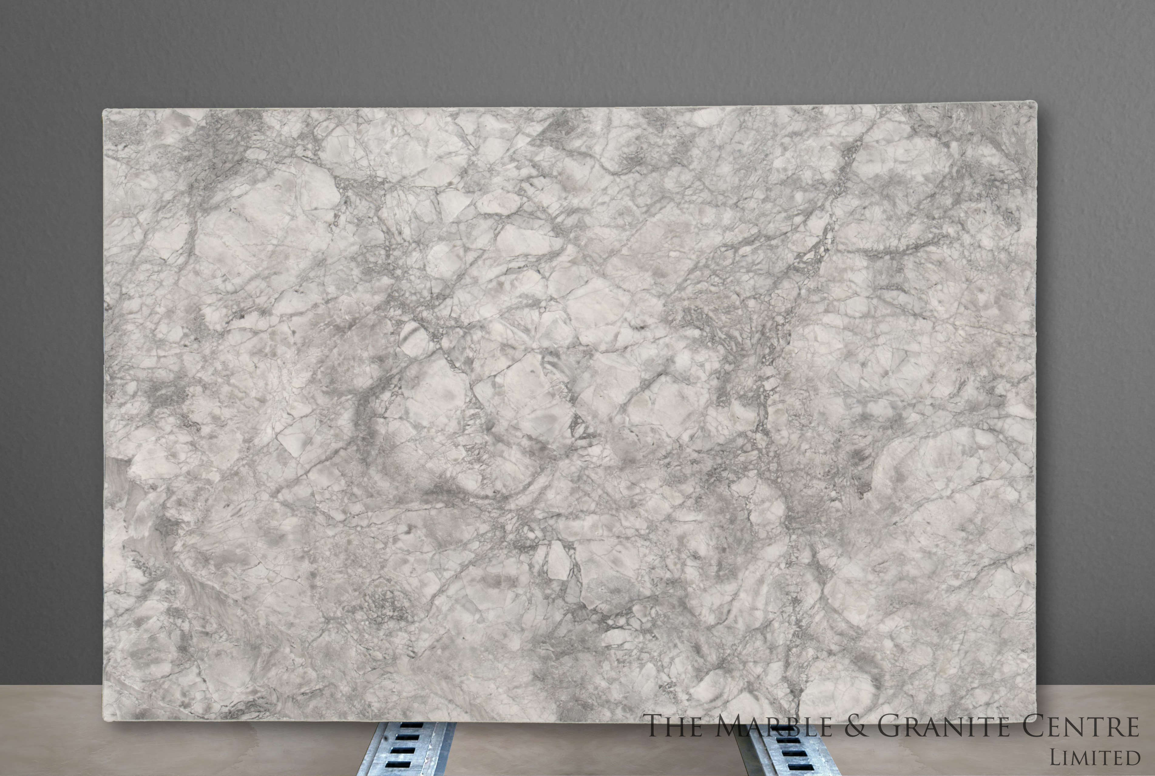 Quartzite Bianca Eclipsia Polished 30 mm [27936]