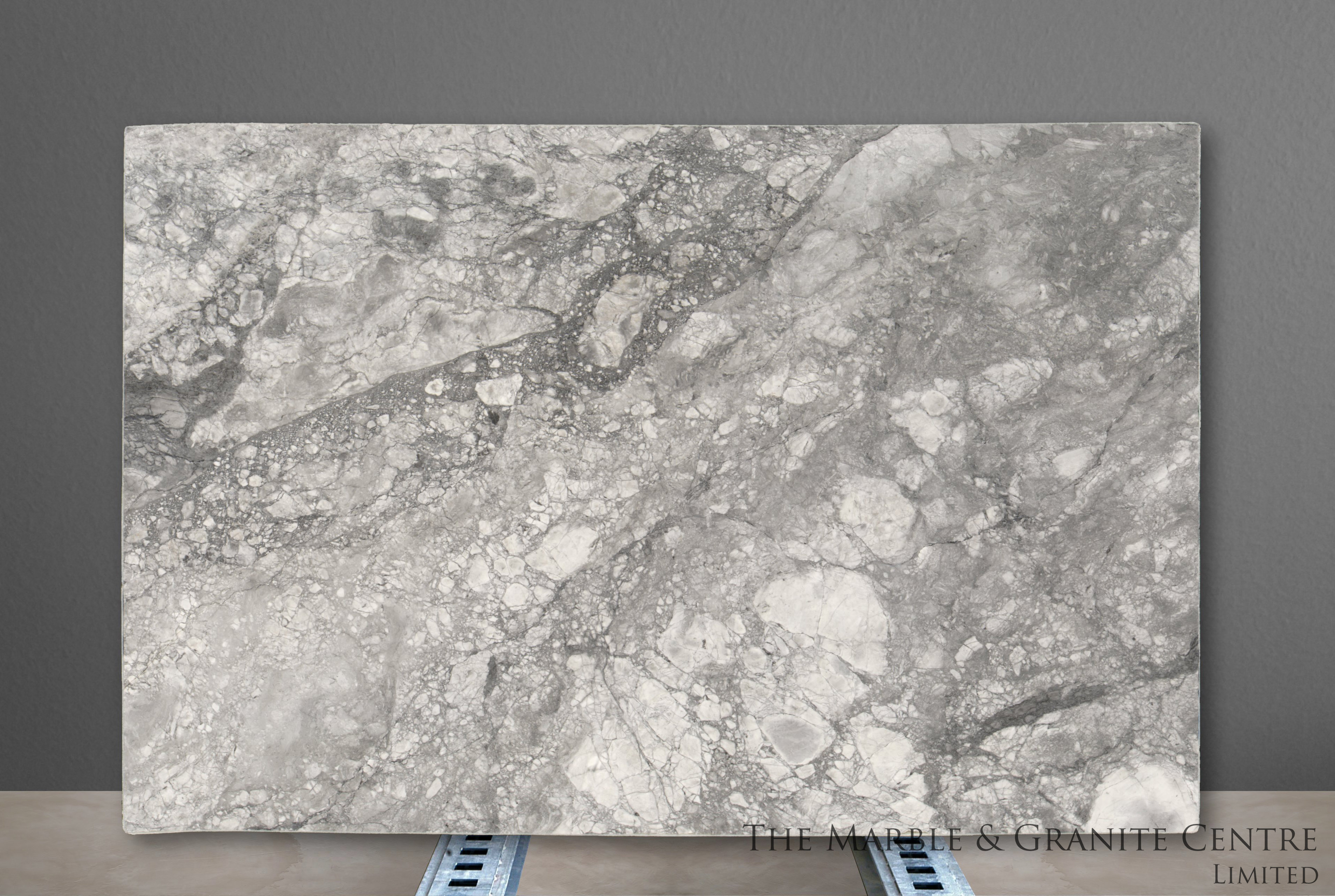 Quartzite Bianca Eclipsia Polished 30 mm [27945]