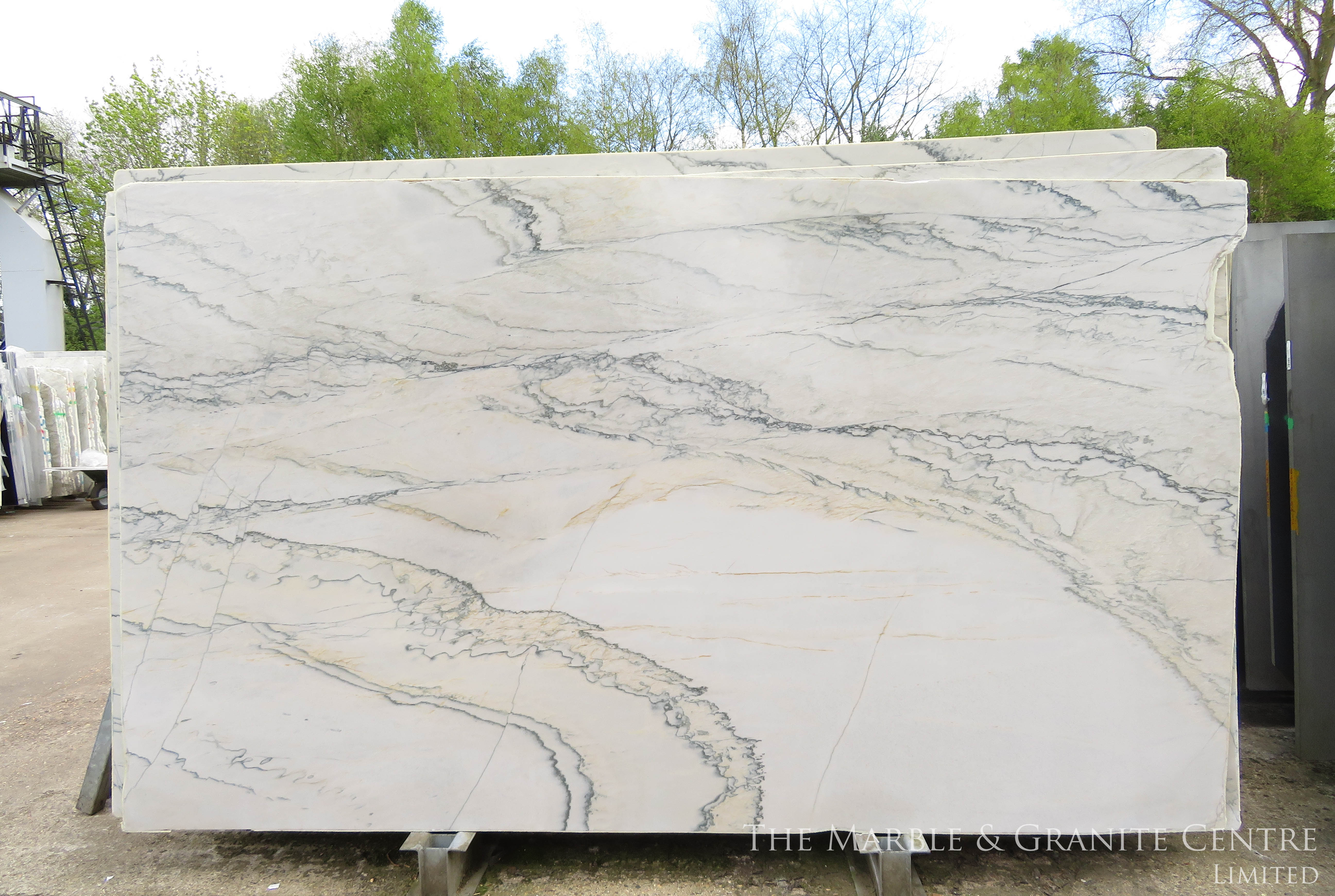 Quartzite Macaubas White Polished 20 mm [27978]