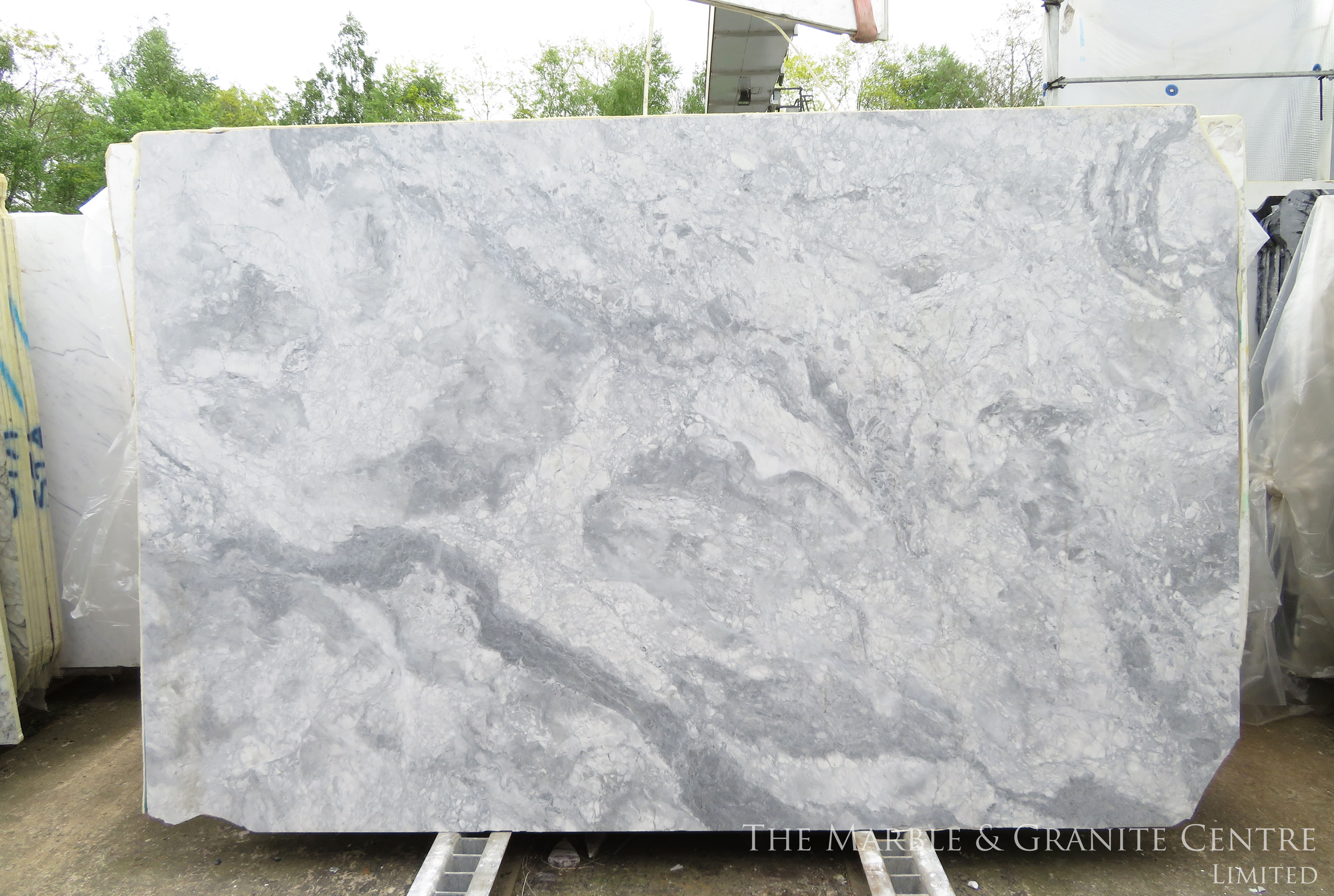Quartzite Bianca Eclipsia Satinato 20 mm [28139]