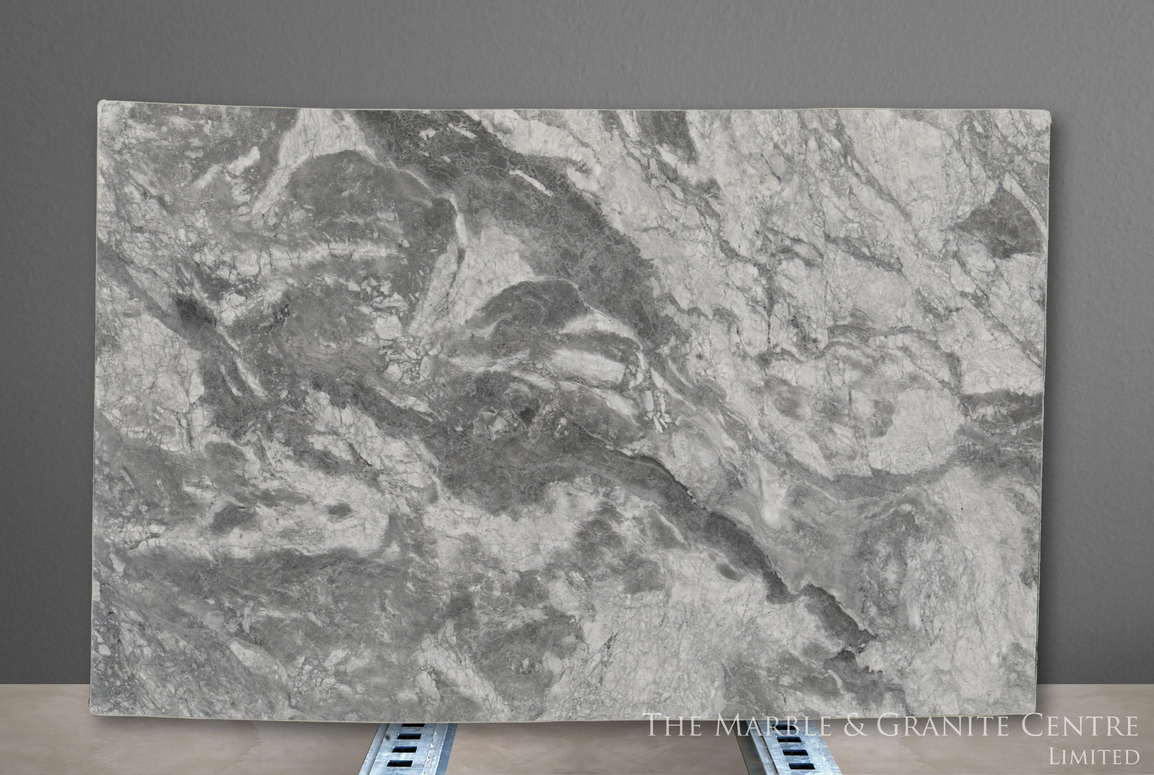 Quartzite Bianca Eclipsia Satinato 30 mm [28139]