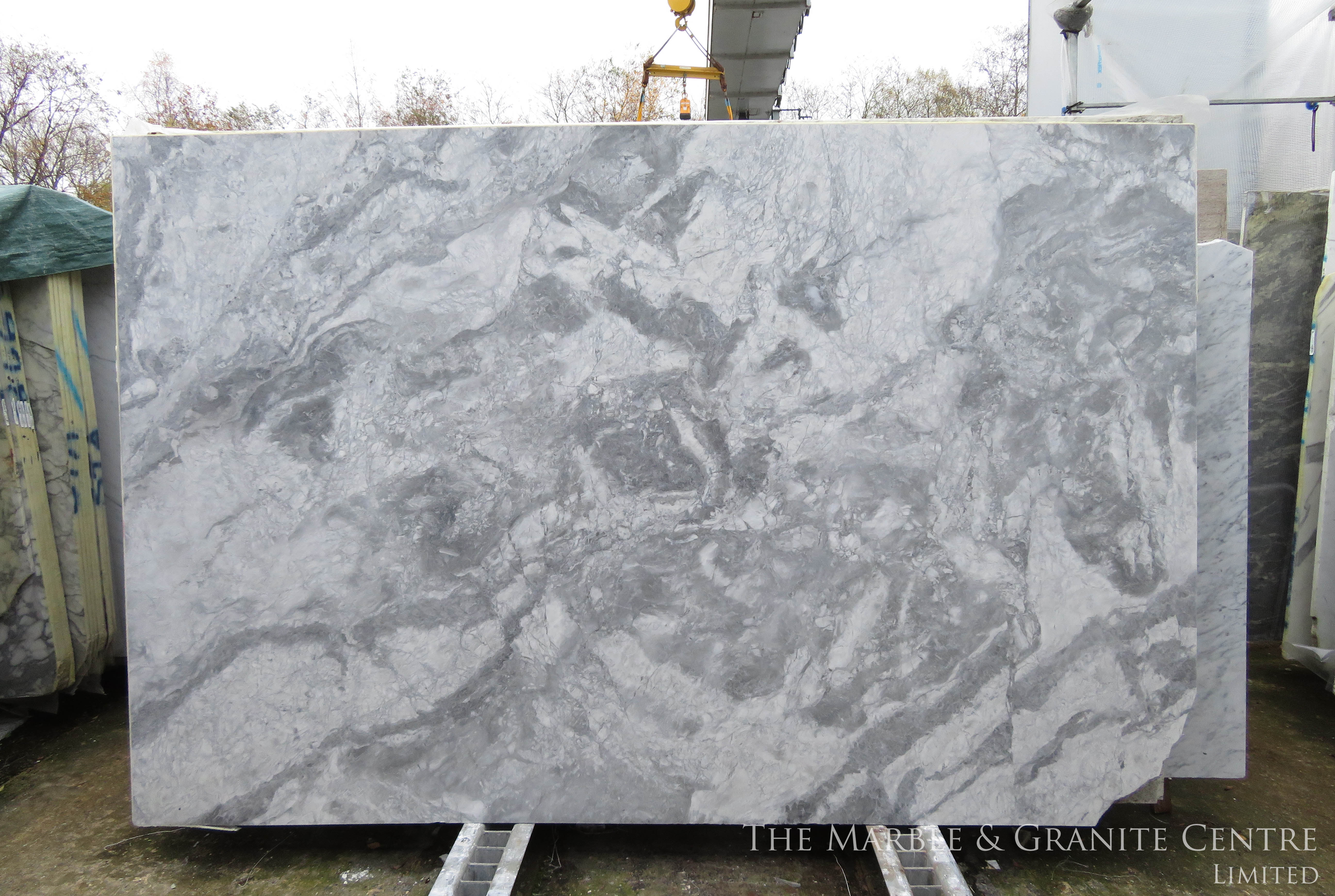 Quartzite Bianca Eclipsia Polished 20 mm [28139]