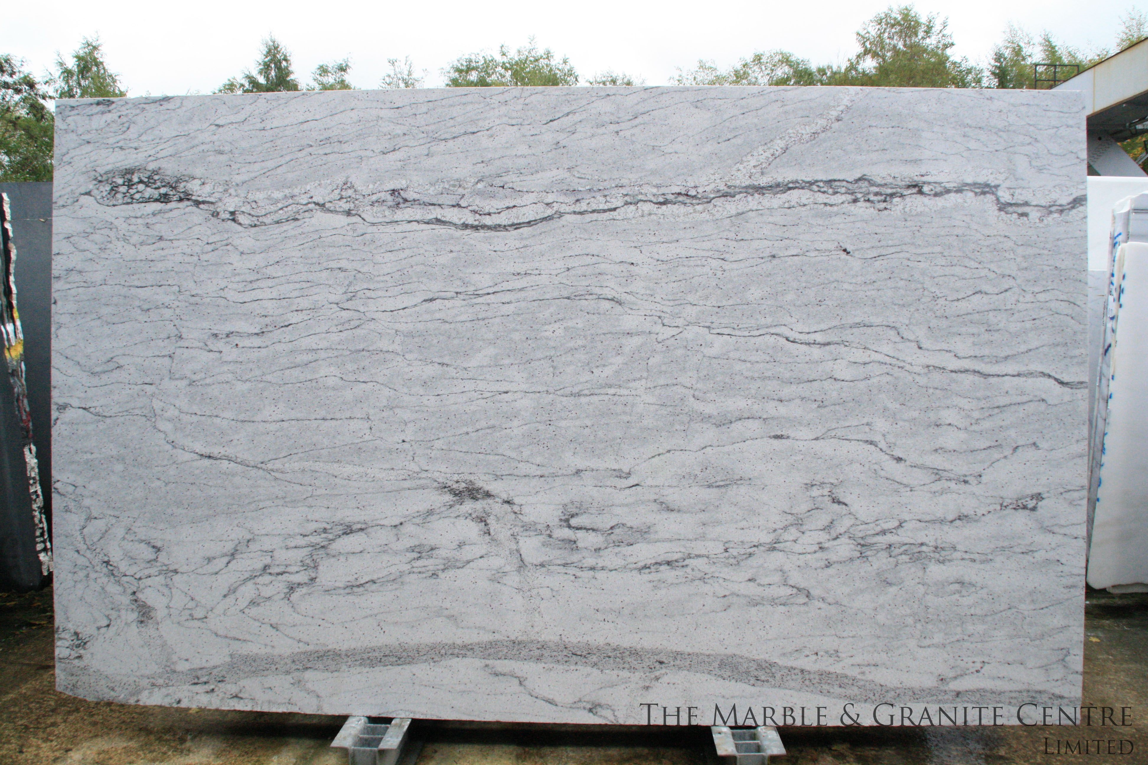 Granite River White Polished 30 mm [5559]