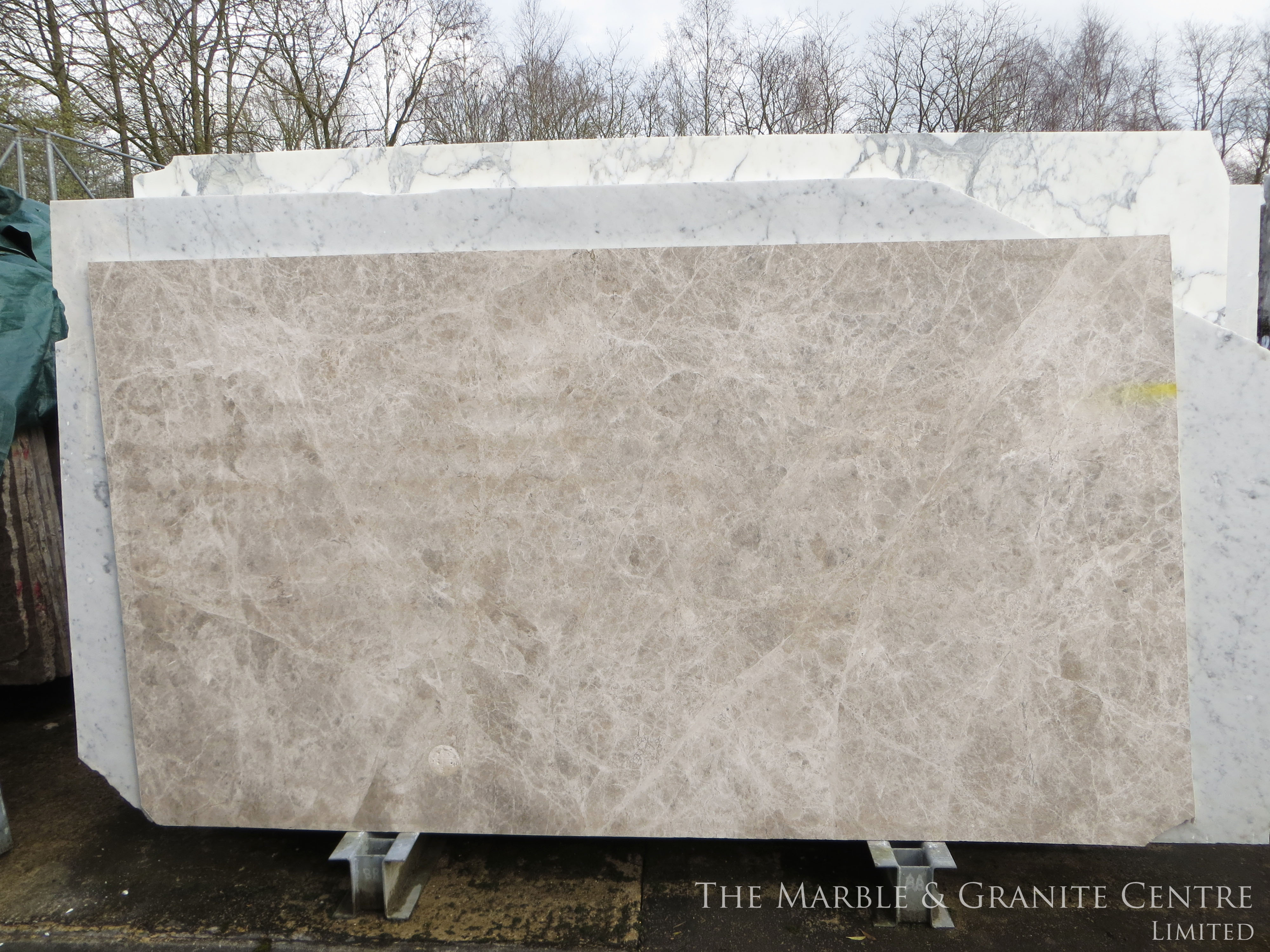 Marble Tundra Grey Polished 20 mm [865]