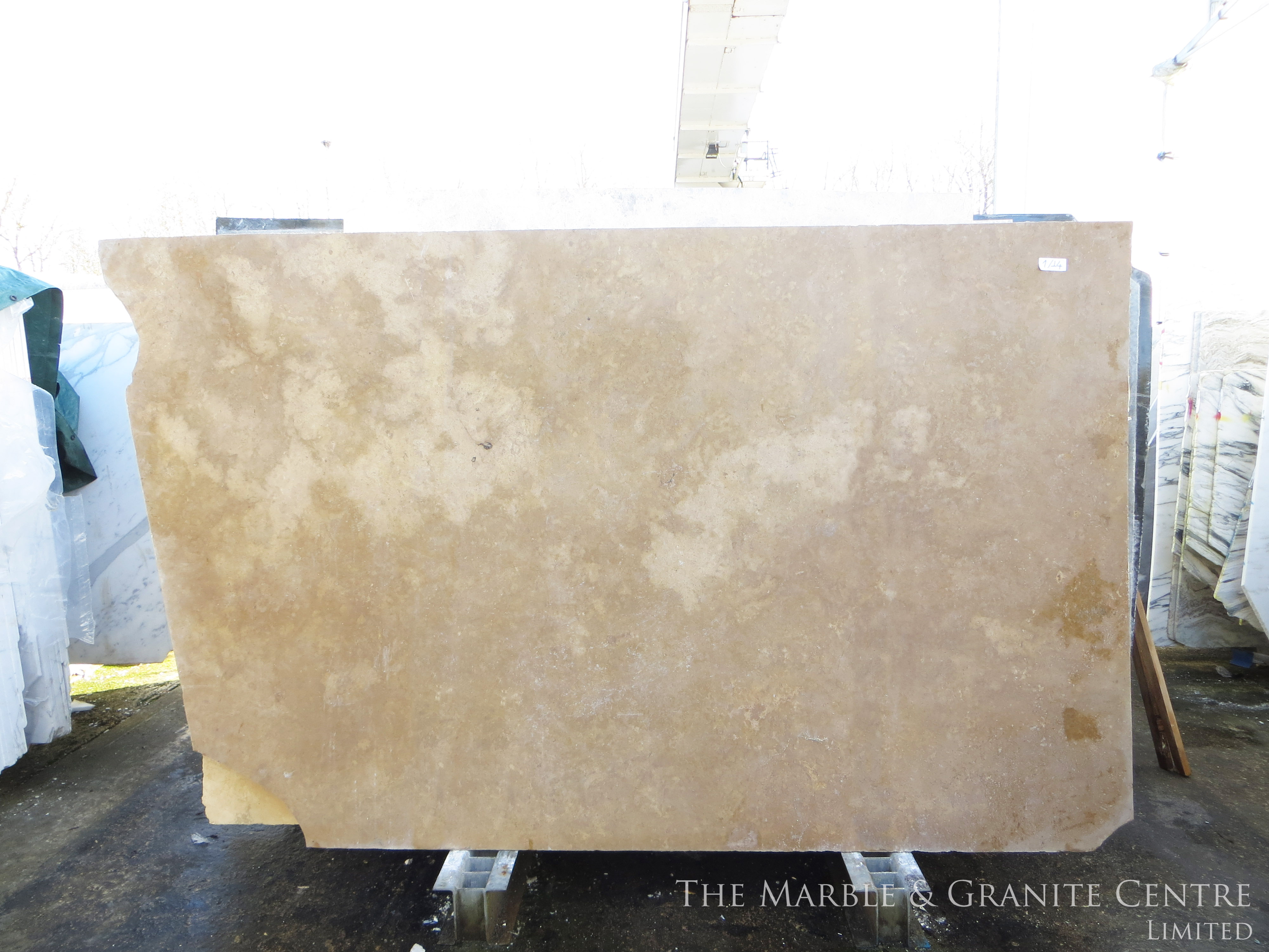 Marble Travertine Noce Honed 20 mm [91047]