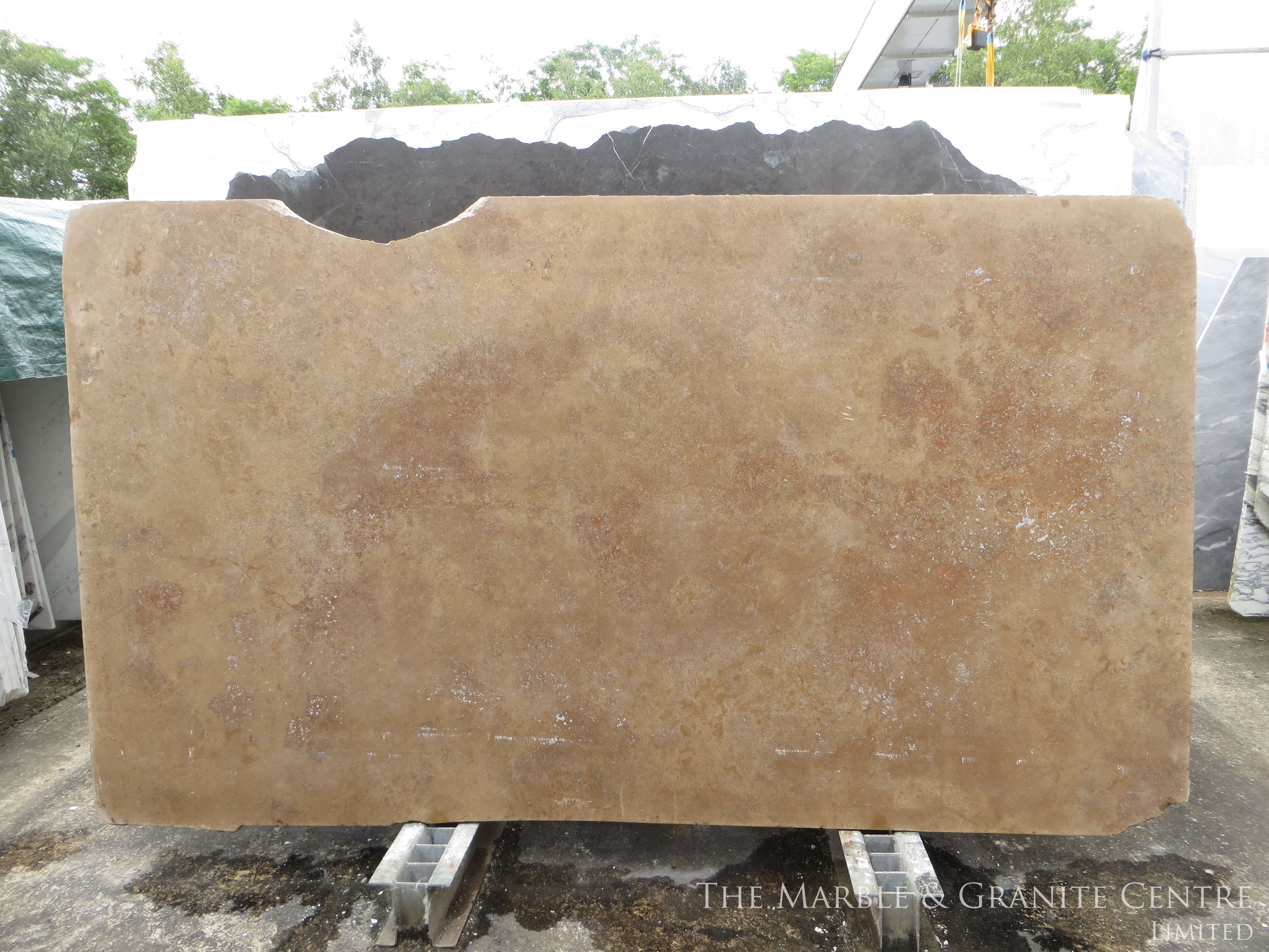 Marble Travertine Noce Honed 30 mm [91047]